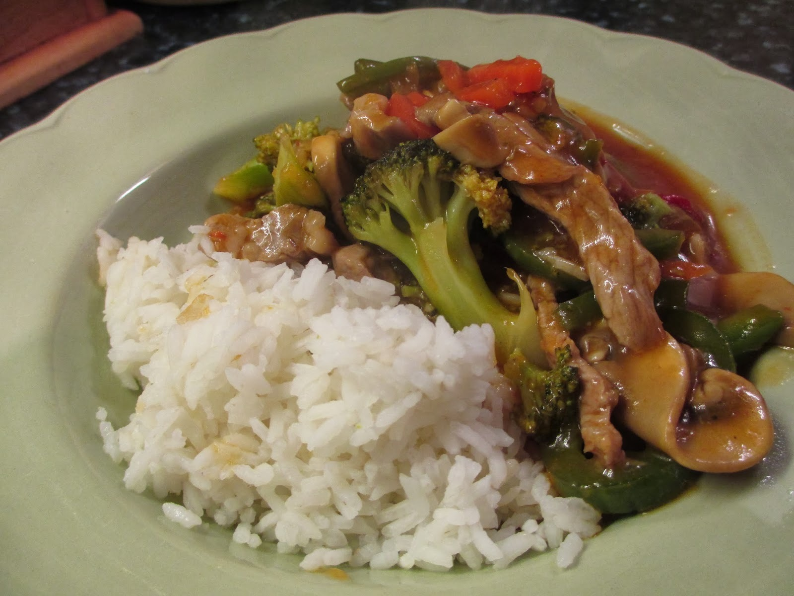 Sweet and Sour Pork and Broccoli (Listen again to Radio Cornwall)