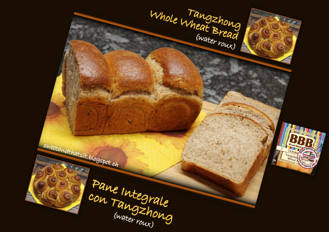 Tangzhong Whole Wheat Bread - Pane Integrale con Tangzhong