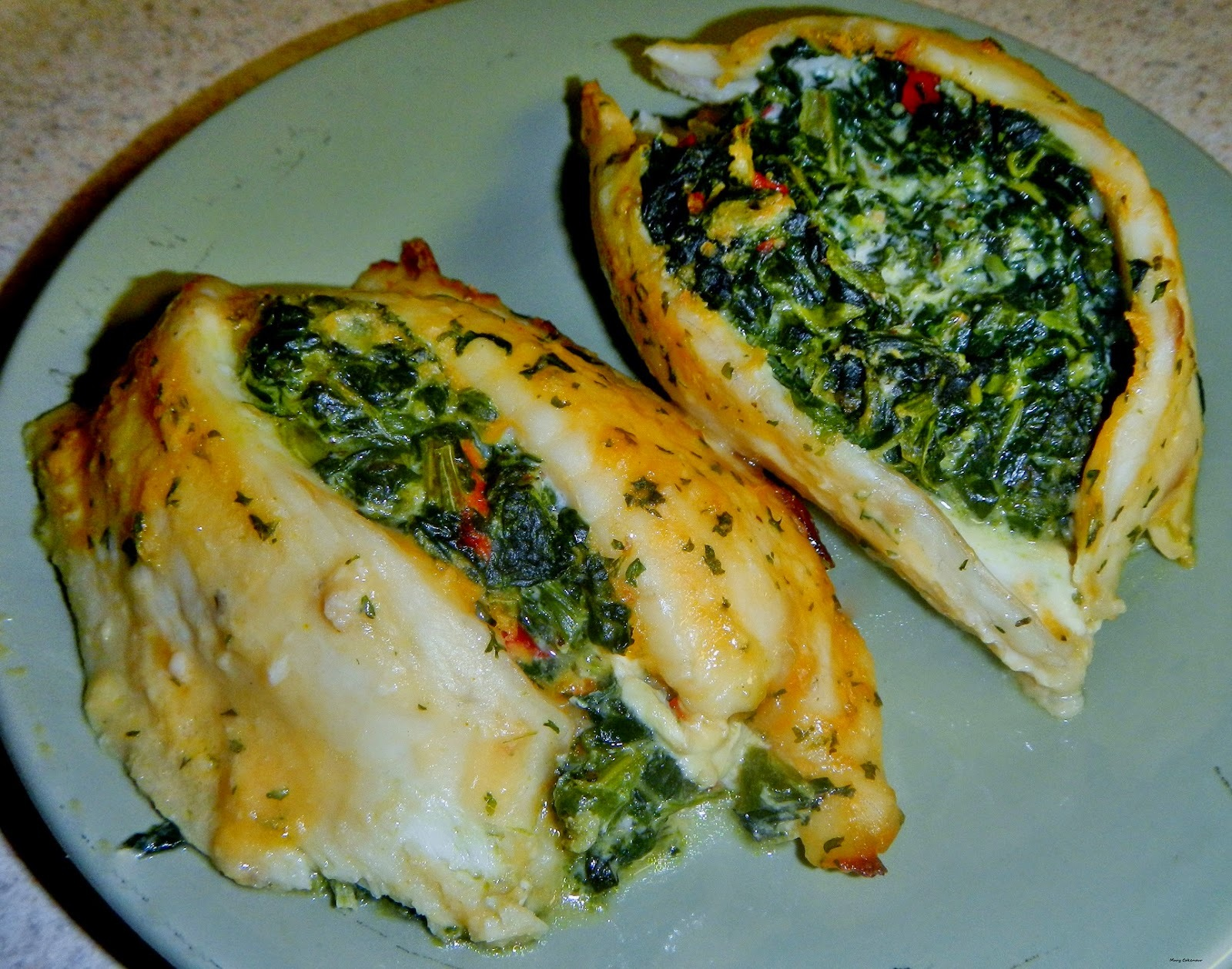 Florentine or Italian for Spinach Involved.