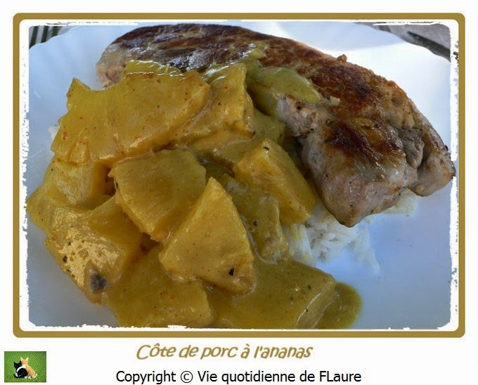 Filet de porc à l'ananas
