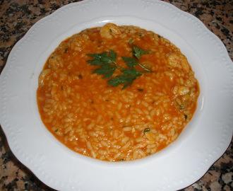 Recetas de arroz caldoso con almejas y gambas mytaste - Arroz con gambas y almejas ...