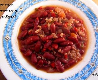 Recetas de judias pintas en olla rapida mytaste - Judias pintas con arroz olla express ...