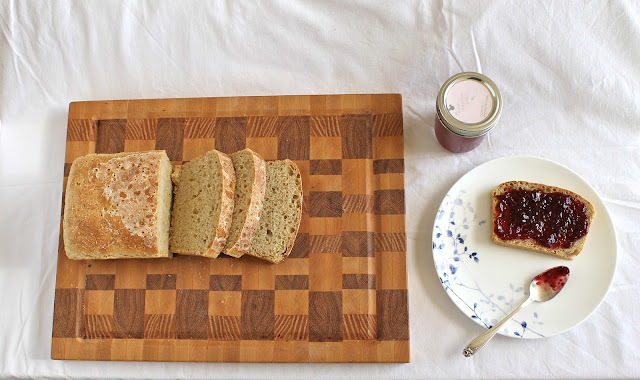 English Muffin Bread - vegan