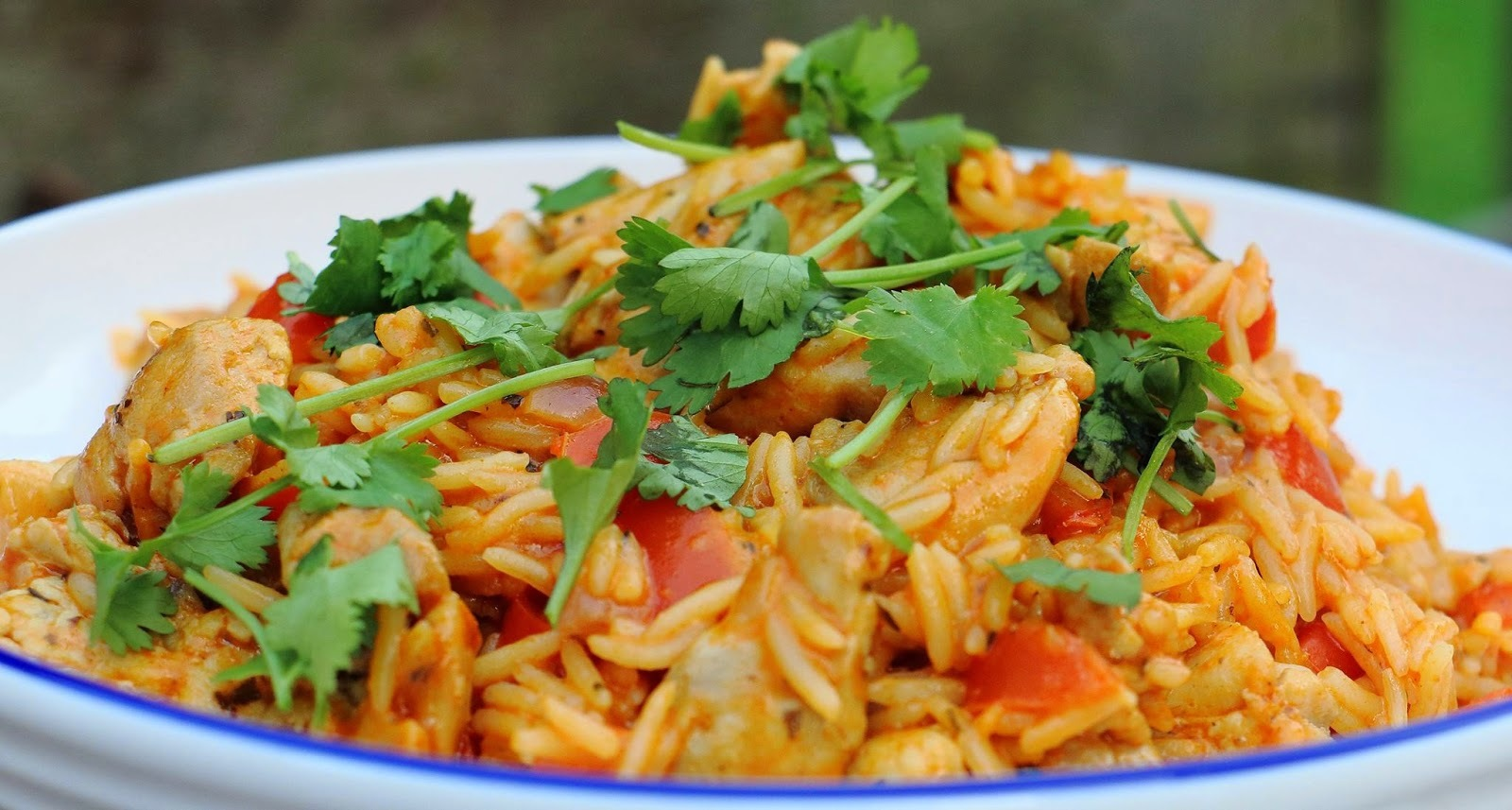 Chicken Tikka Rice