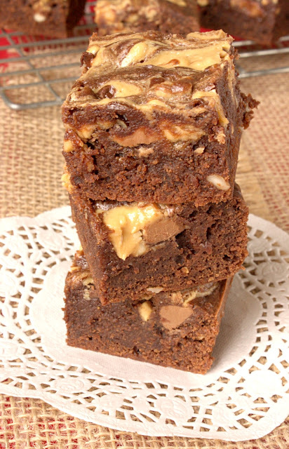 My Favourite Peanut Butter Brownies