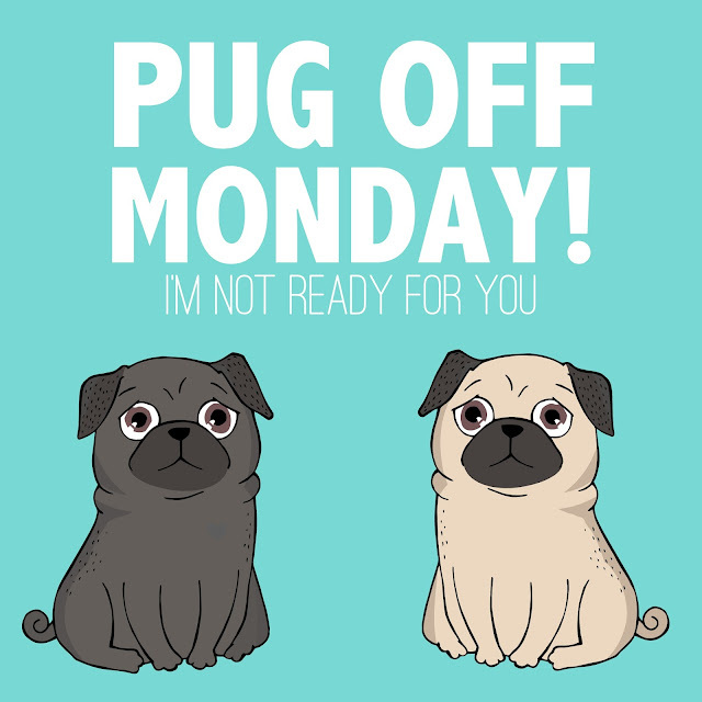 ※ Pug Off Monday! (I'm not ready for you)