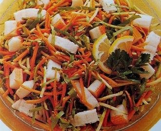 Ricette di di insalate con polpa di granchio in scatola for Cucinare granchio