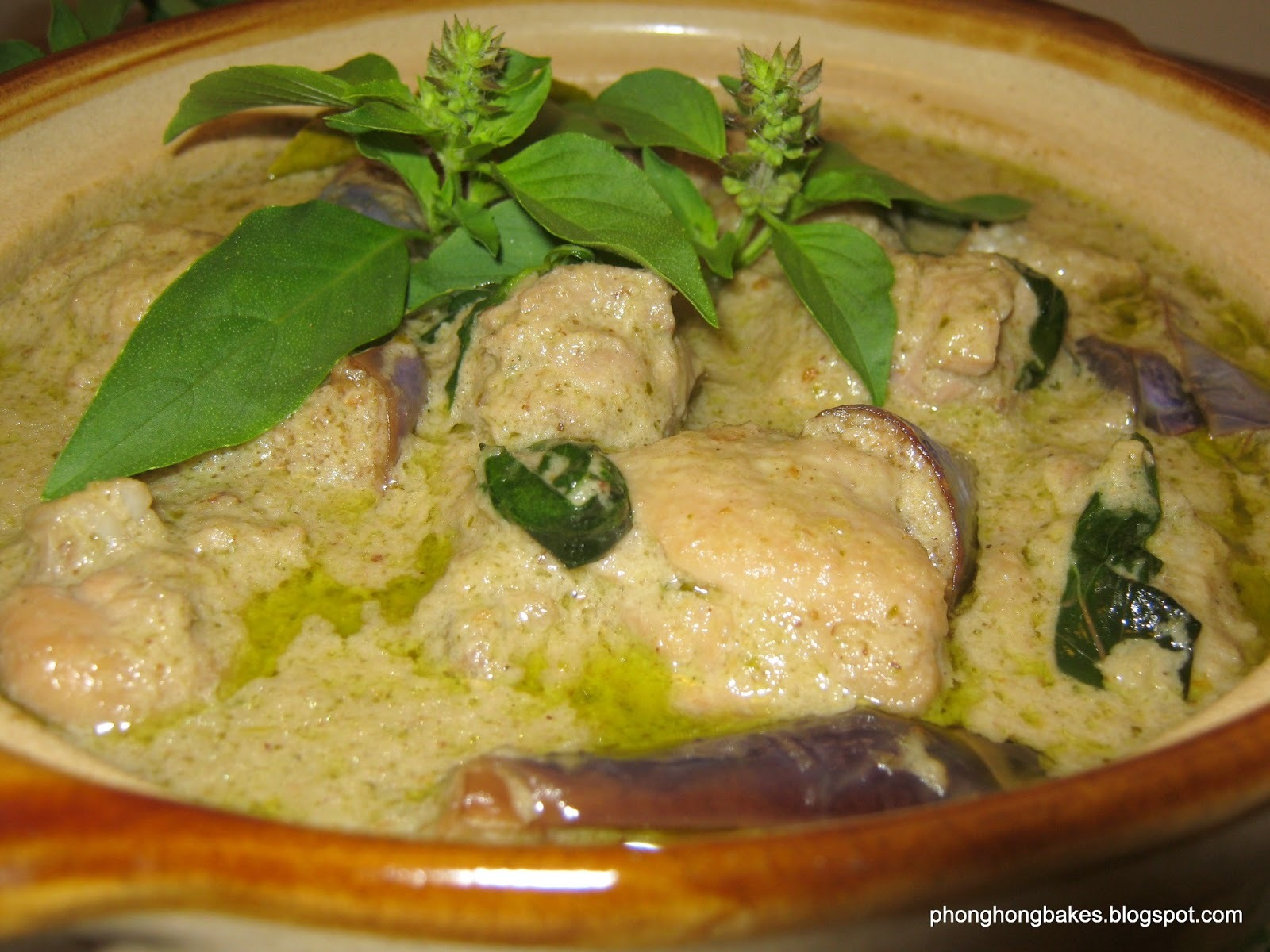 Green Curry Chicken (Opor Ayam Hijau)