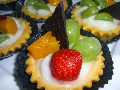 Recipes easy to make a Mini Fruit Cake Pie