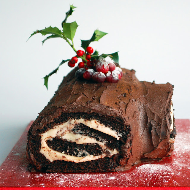 'Twelve Days' day 4: Chocolate Yule Log