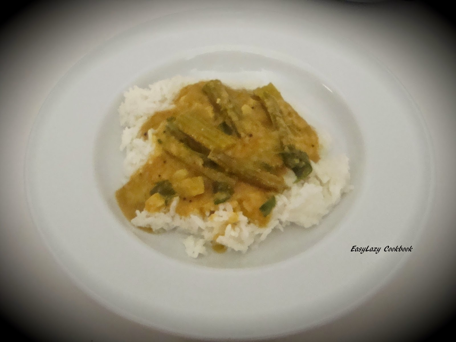 Drumsticks (moringa) curry
