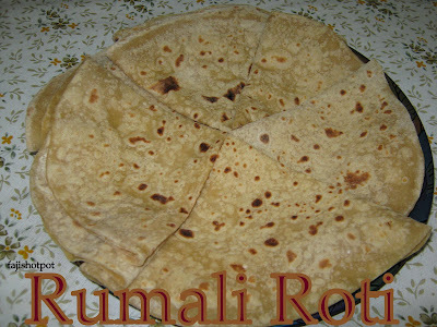 Rumali Roti And An Award