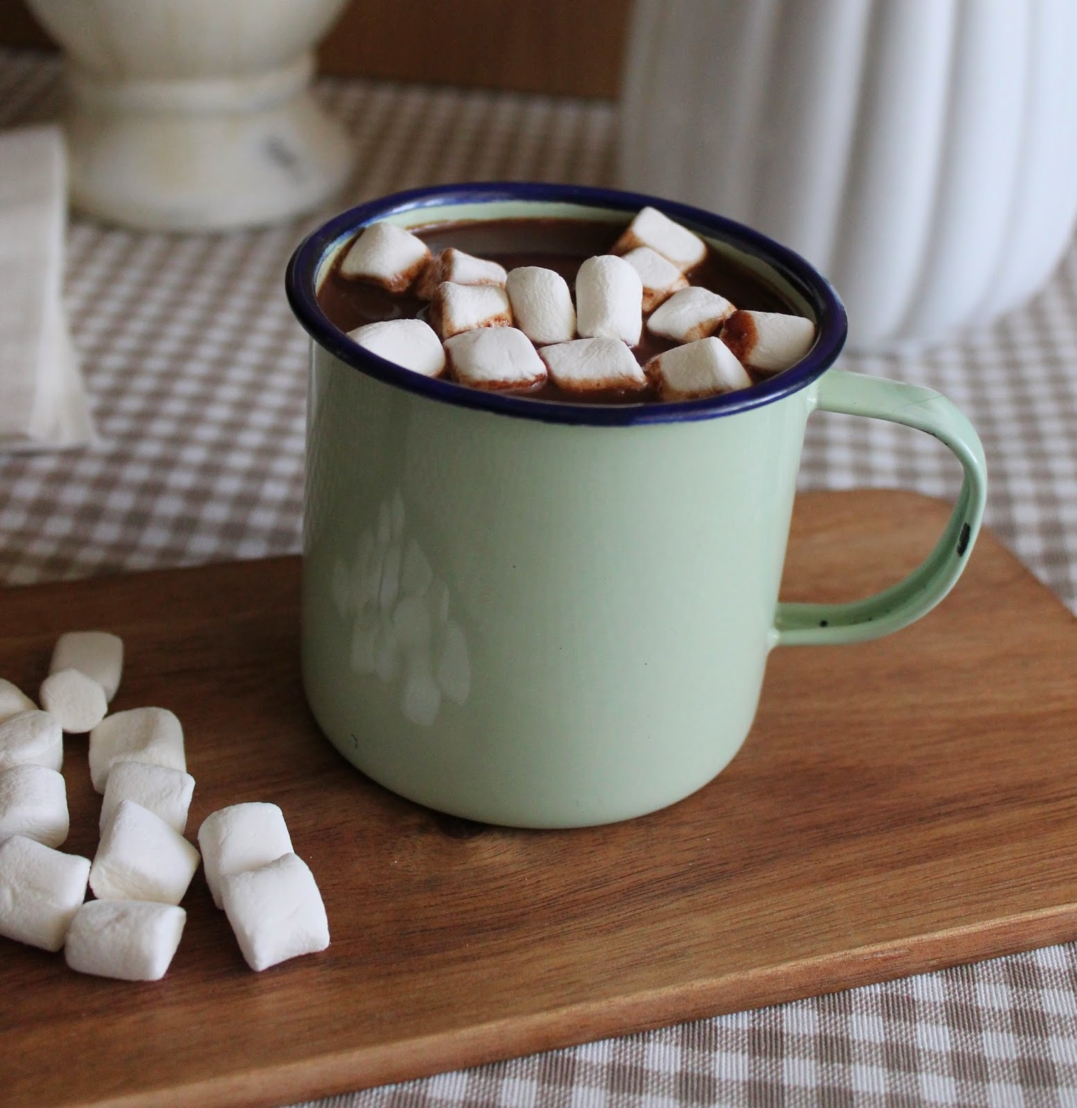 Chocolate caliente especiado