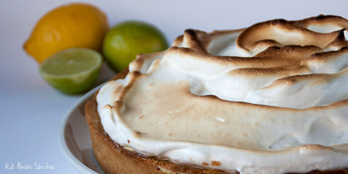 Receta. Tarta de limón y merengue o Lemon pie