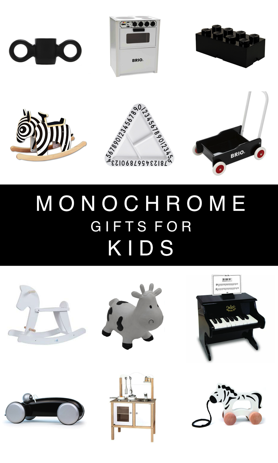 Monochrome Gifts For Kids This Christmas