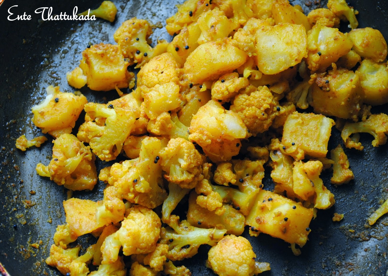 Potato Cauliflower Stir Fry