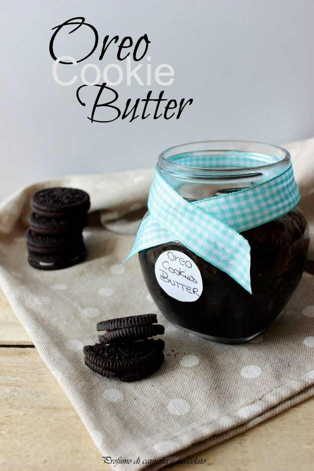 Oreo cookie butter.. Crema oreo