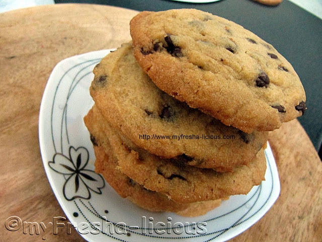 Chocolate Chip Cookies using Shortening