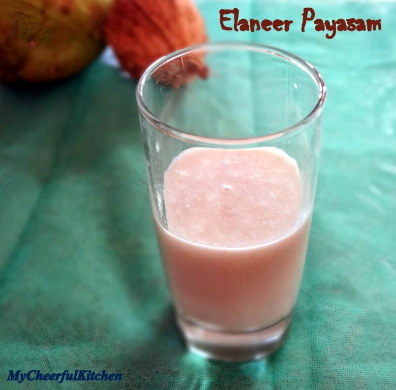 Elaneer Payasam | Tender coconut payasam (No cooking required)