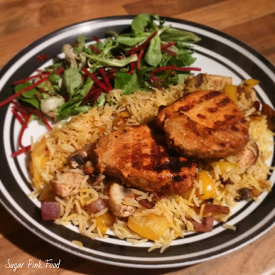 Slimming World Friendly Recipe:- Grilled Mexican Pork Medallions & Rice