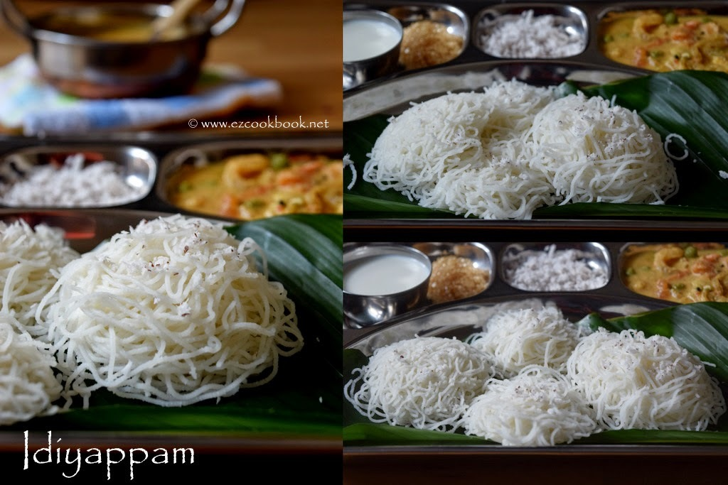 Idiyappam | Rice Flour String Hoppers - Breakfast Recipe