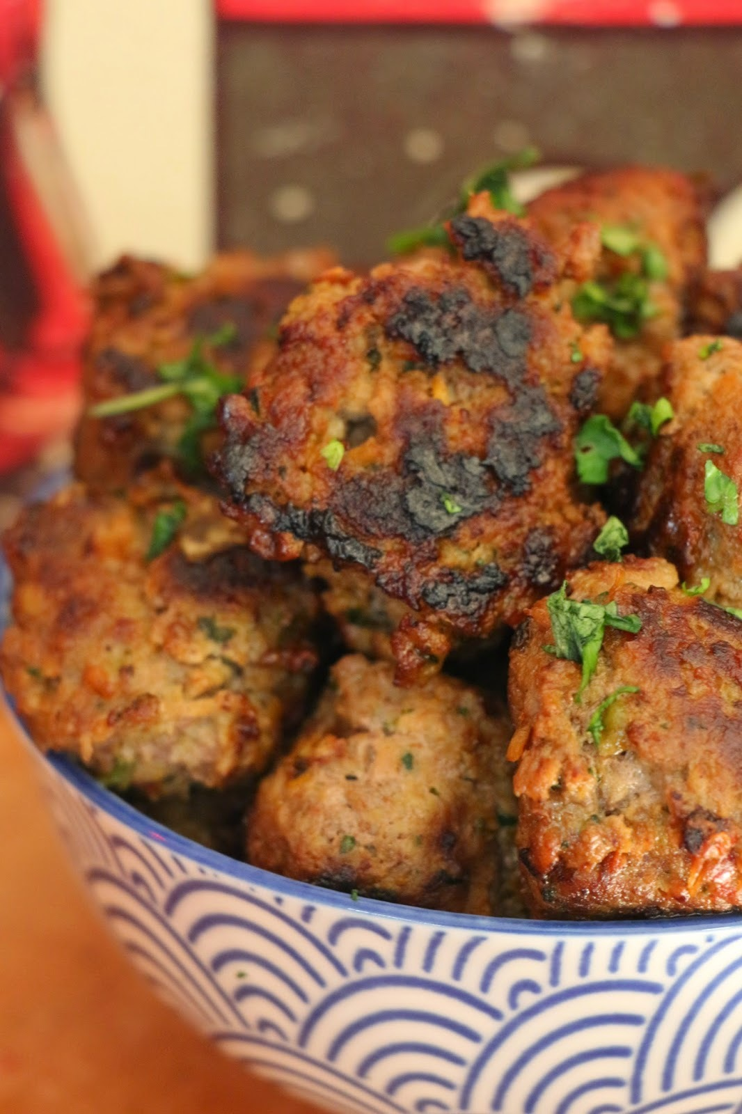 GREAT BALLS OF FIRE THAI MEATBALLS