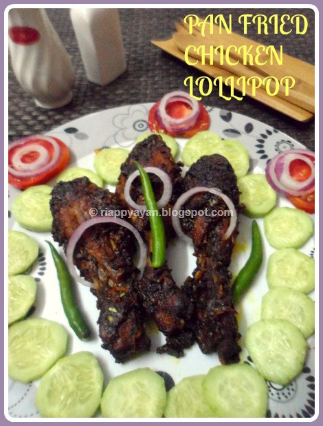 Pan Fried Spicy & Juicy Chicken Drumstick