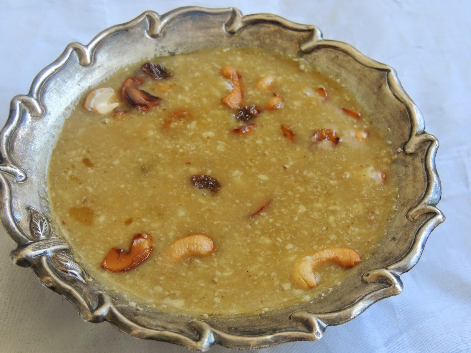 MOONGDHAL COCONUT MILK PAYASAM