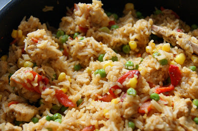 Savoury Quorn 'Chicken' rice