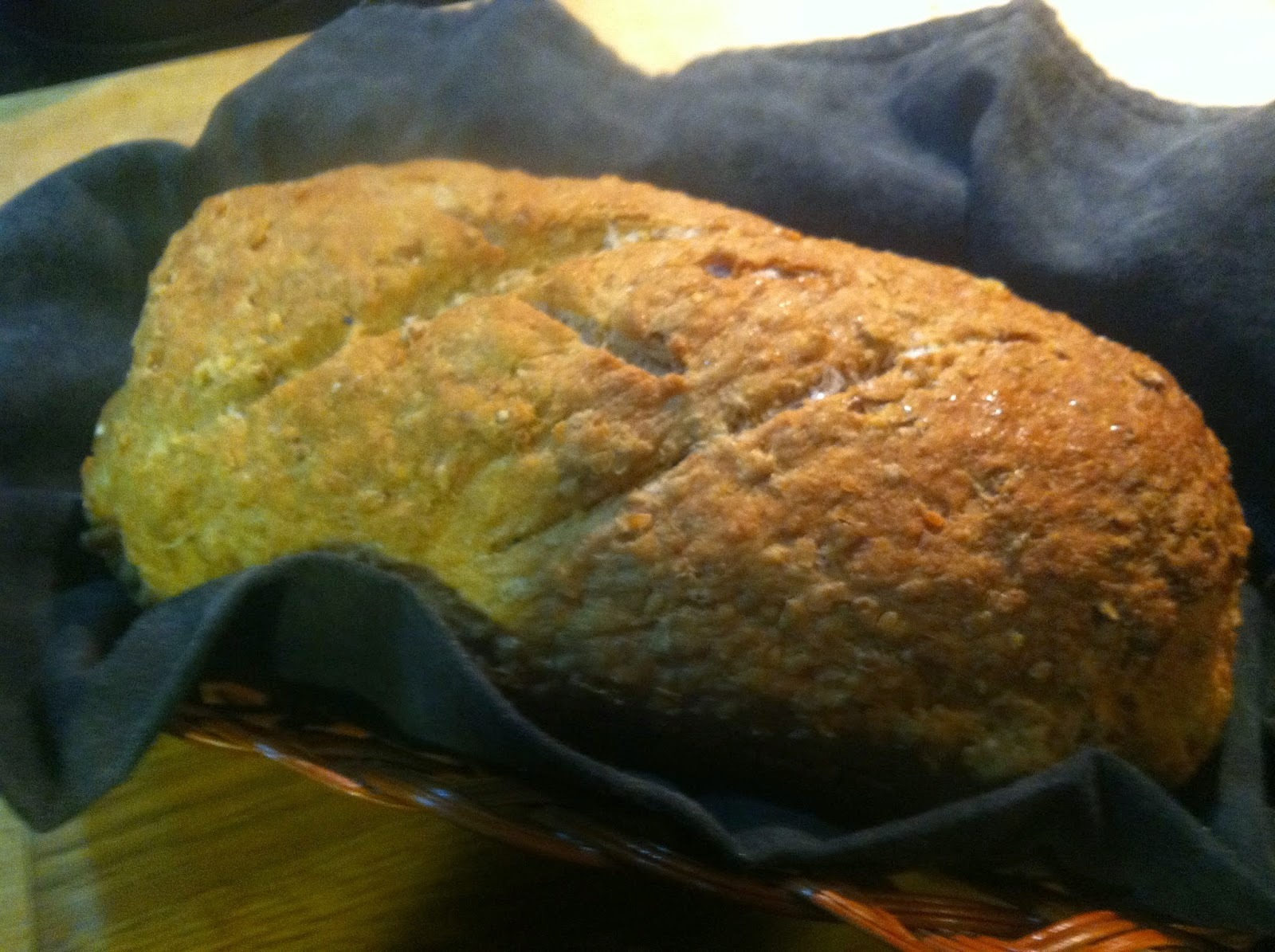 Multigrain goodness . . . Seven Grain Bread