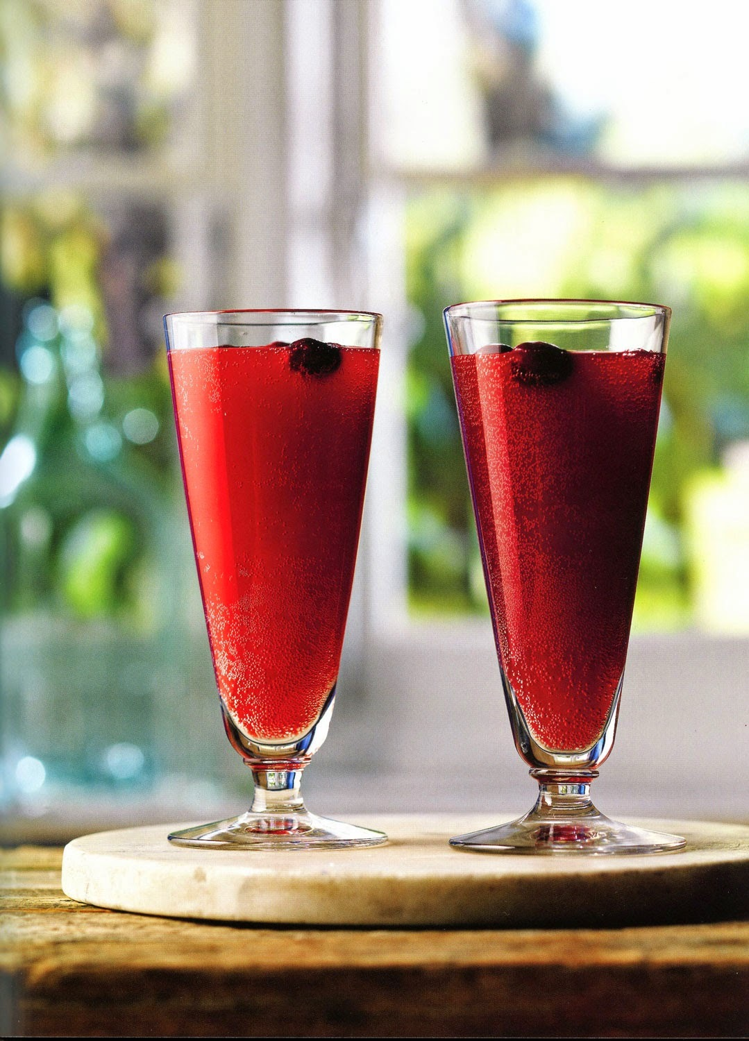 Cranberry Fizz - A non-alcoholic drink for Christmas