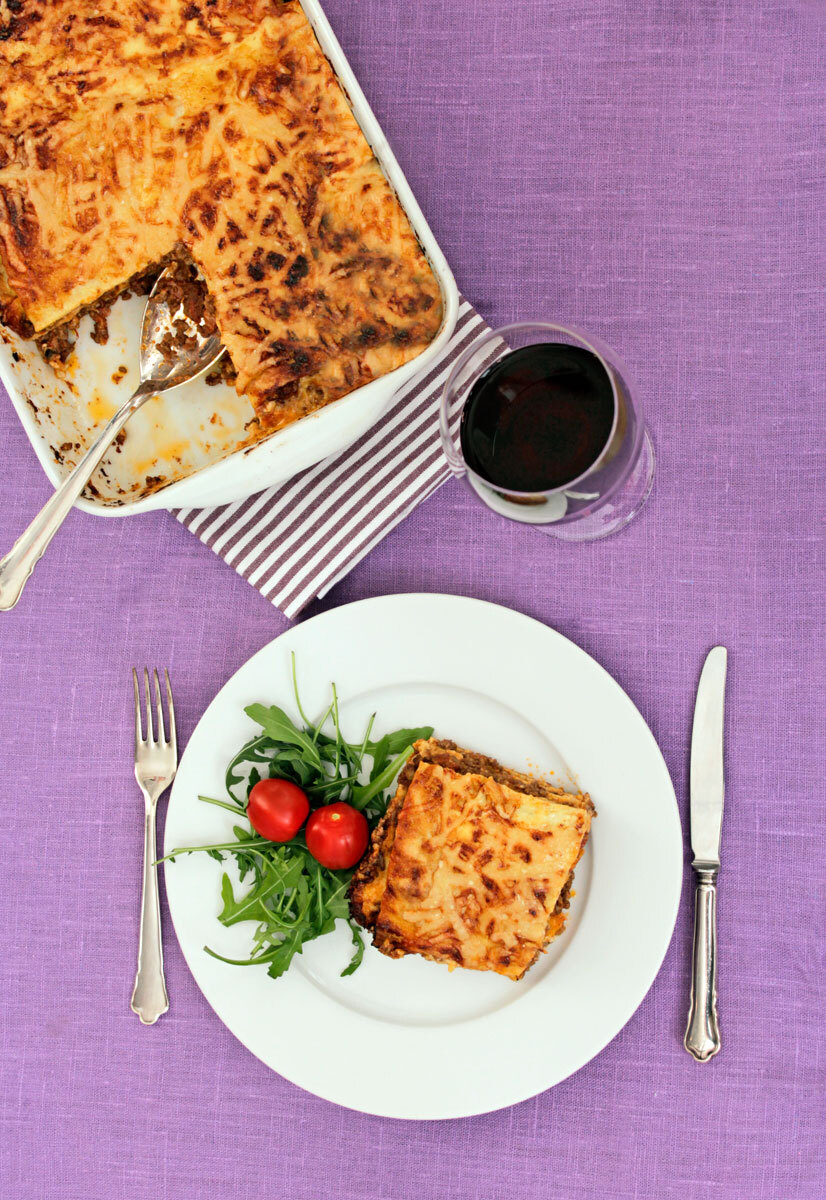 Lasagne Bolognese LCHF