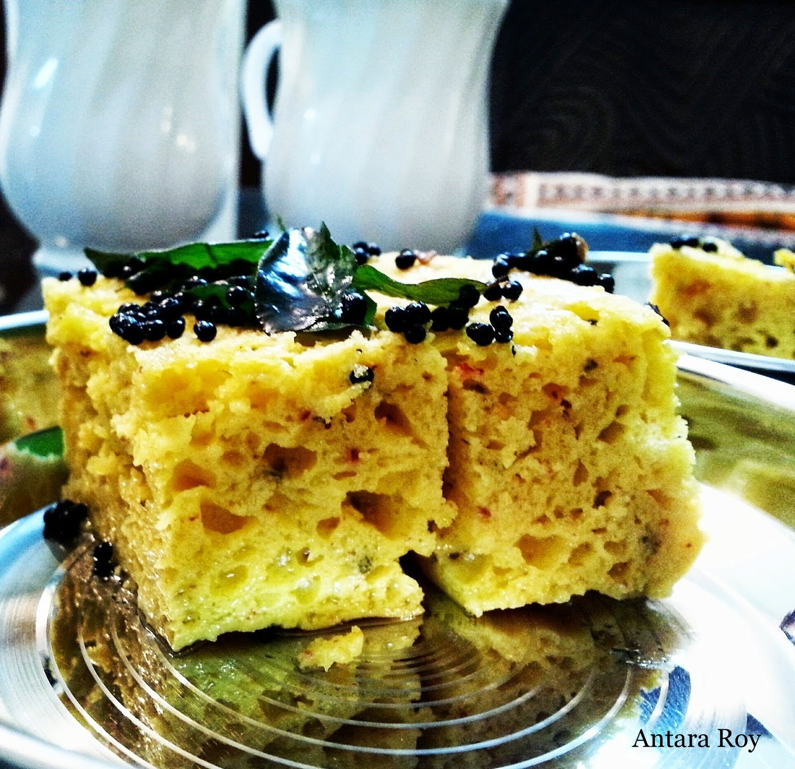 The Old Fashioned Dhokla!!!