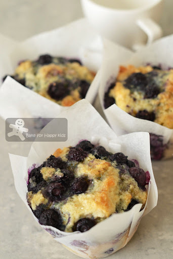 Too-Easy Blueberry Muffins (Donna Hay)