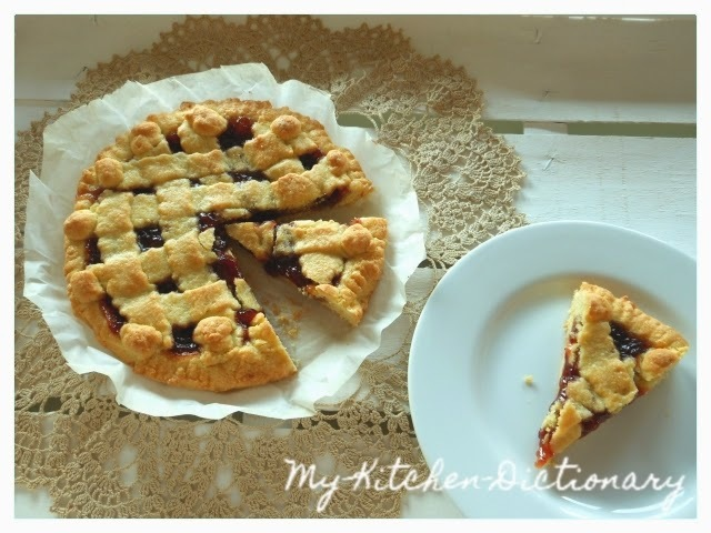 C come Crostata con la Frolla all'Olio