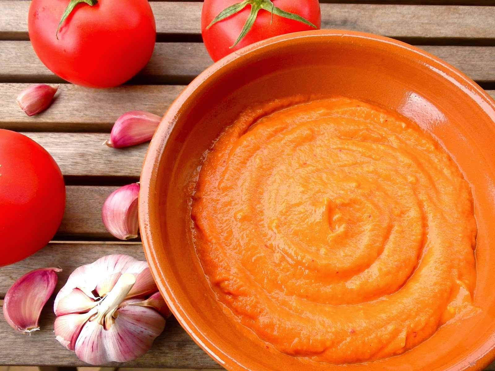 Salsa romesco light