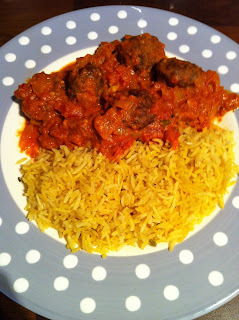 Weight watchers lamb kofta meatballs and beef keema.