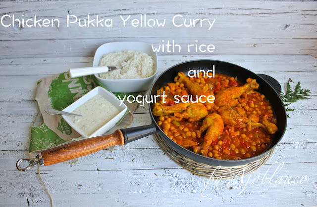 Pollo al curry amarillo. Chicken Pukka Yellow Curry. Jamie Oliver