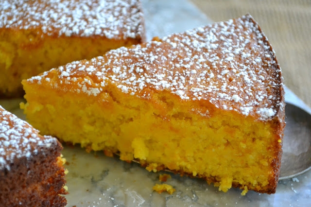 Minimal Monday: Flourless Whole Tangerine Cake (gluten free)