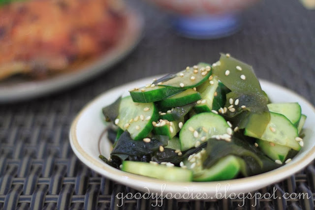 Recipe: Japanese cucumber & wakame salad