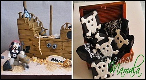 Galletas y Tarta Jack Sparrow