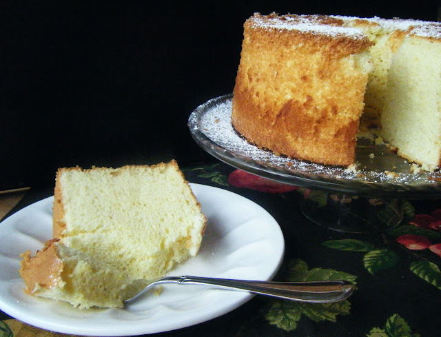 Rosemary and Olive Oil Chiffon Cake