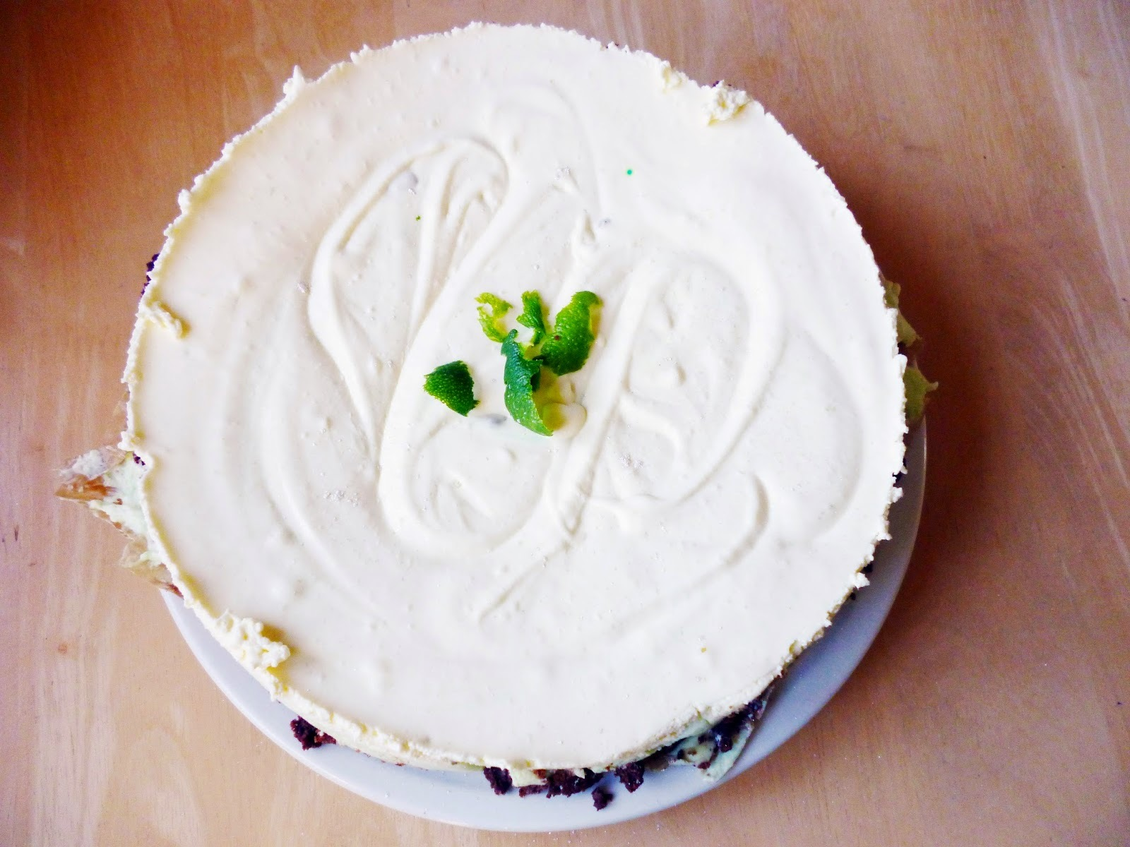 Lime Mousse Cheesecake [No Bake]