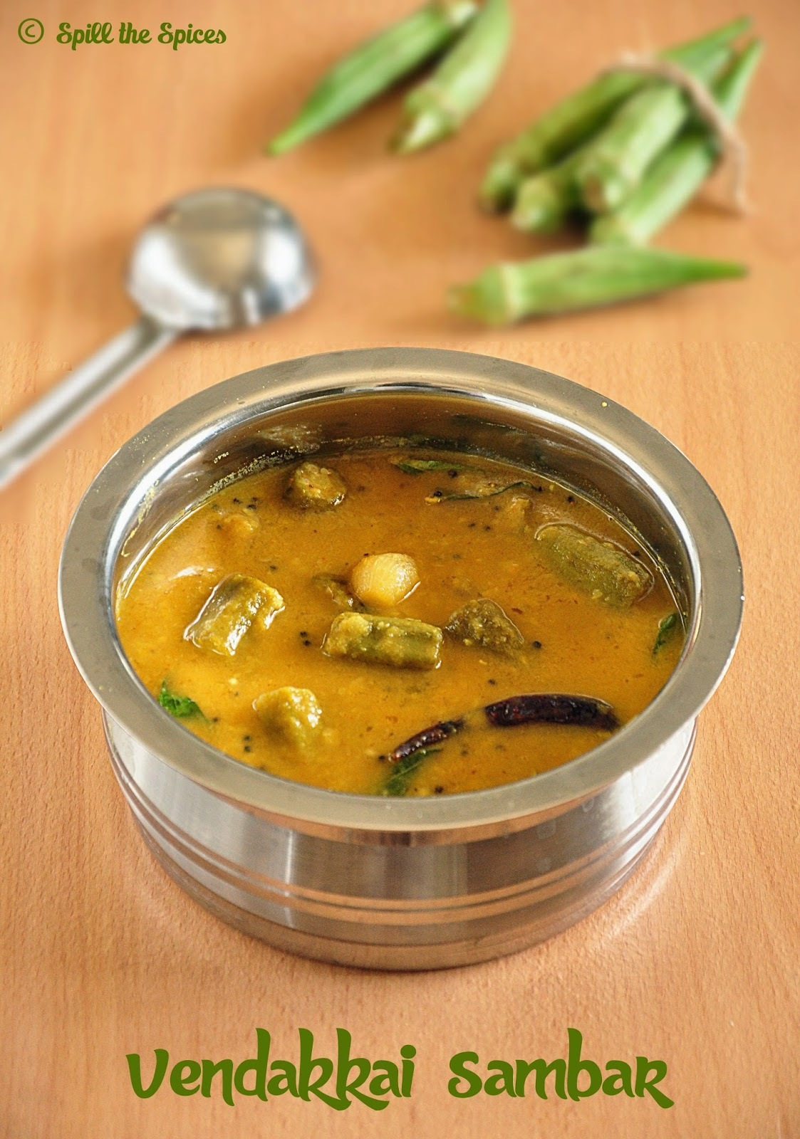 Vendakkai Sambar | Ladies Finger Sambar