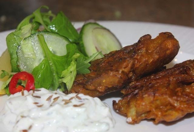 QUICK ONION BHAJI RECIPE