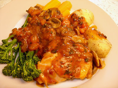 Marco Pierre White's Chicken Chasseur ... oh dear.