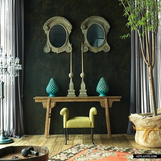 Creating The Perfect Console/Sideboard Vignette