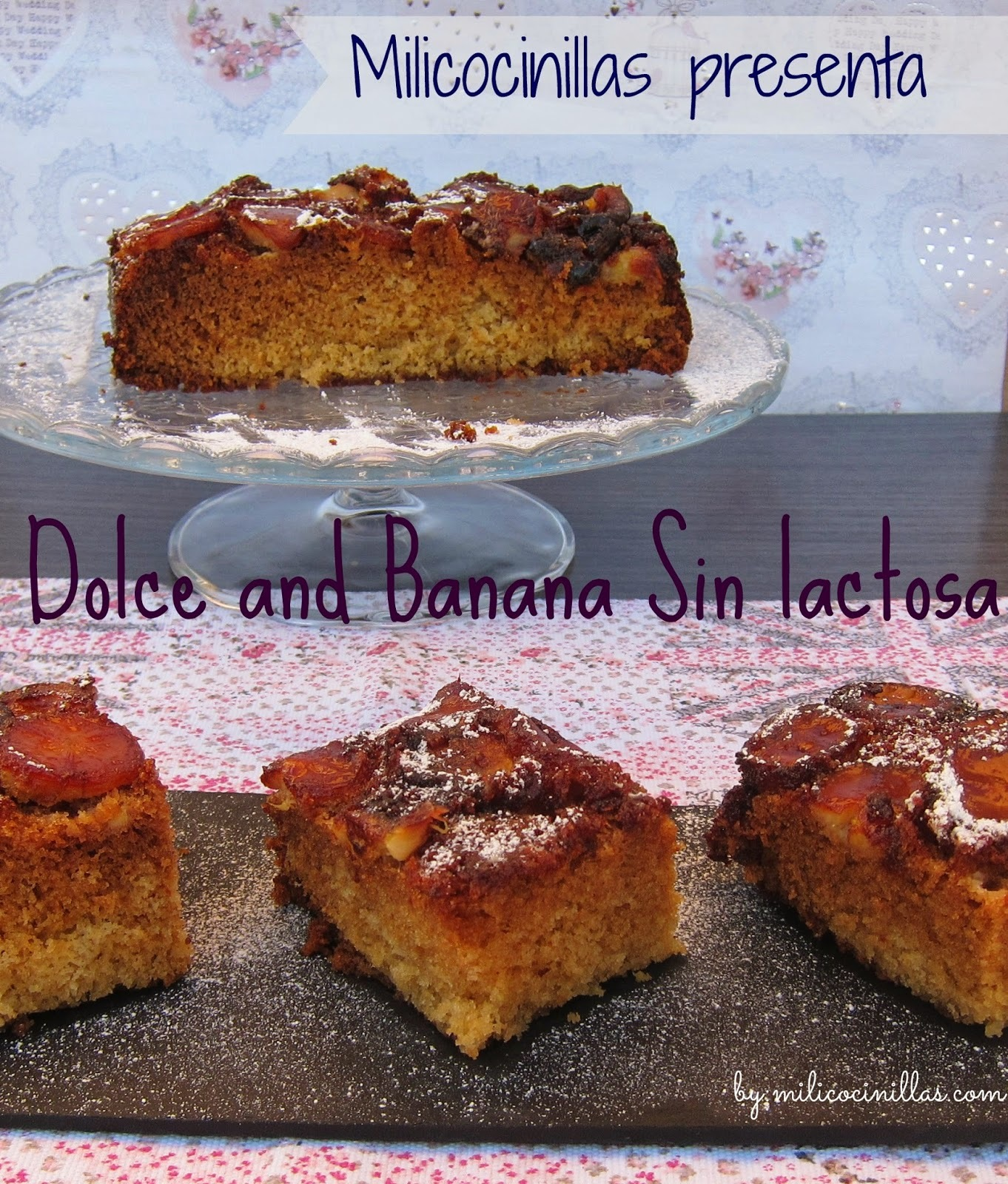 Dolce and Banana ( Bizcocho de plátano)