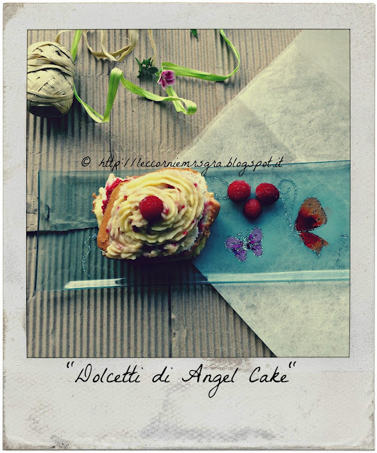 Dolcetti Angel Cake di fine Estate...