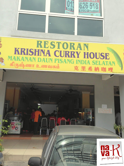 Krishna Curry House (Revisited) - SS9A/14. Section 51A Petaling Jaya